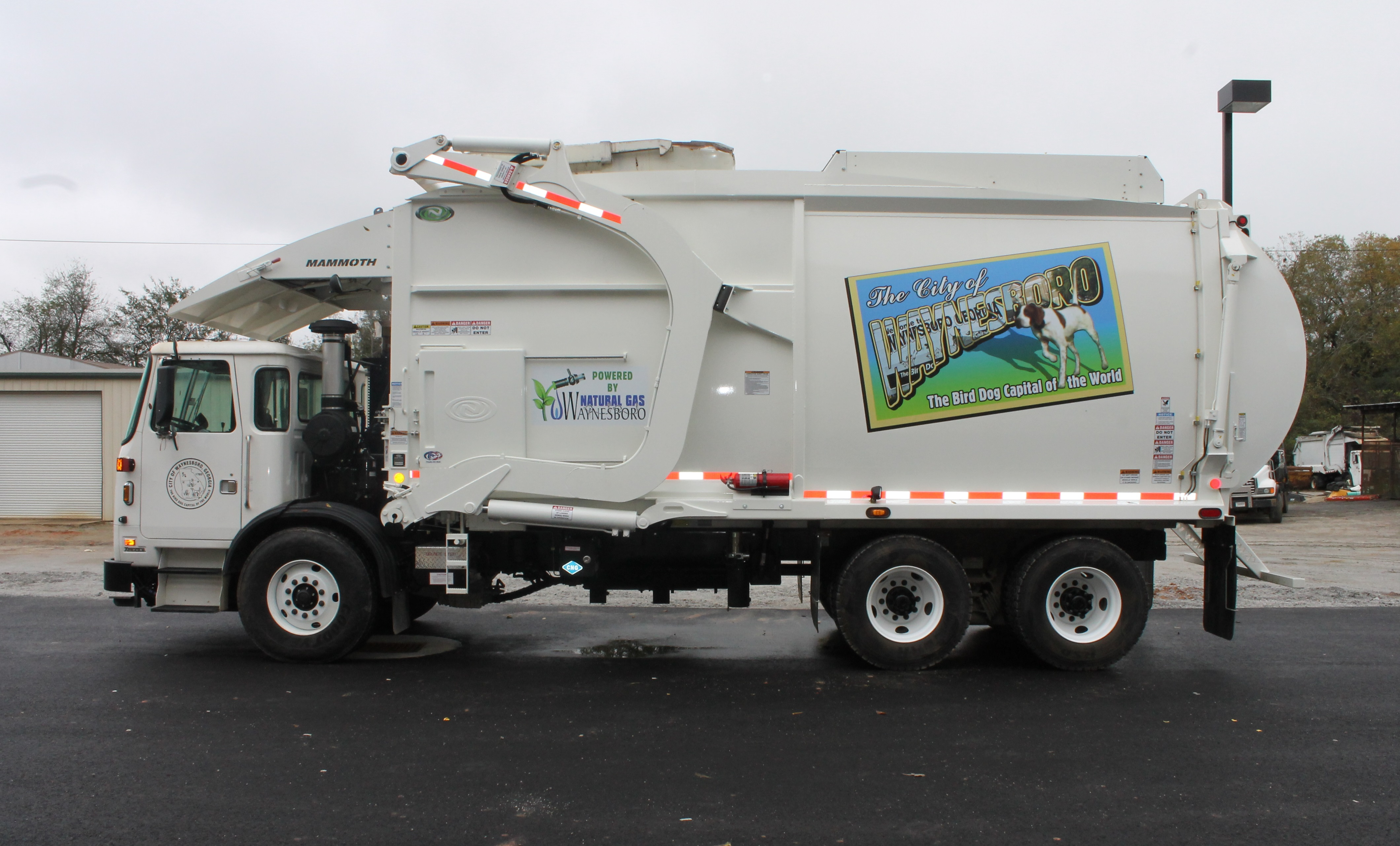 New Garbage Truck